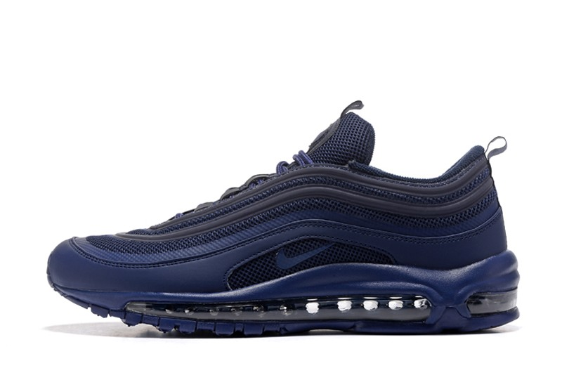65832c0d09f0f New Arrival Men s 884421-003 Nike Air Max 97 Dark Blue Sport Running Shoes  ...
