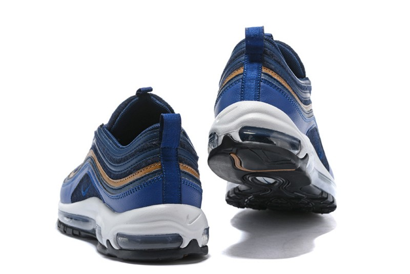 f92e1754b7 Nike Air Max 97 Premium Thunder Blue Ale Running Shoes Running Shoes ...