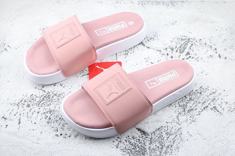 fbd9731eb2d9 Puma Women s Beautiful Sandals Pink White Fashion Slippers Free ...