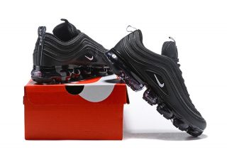 outlet store 8ed3f 7a32e 2018 Most Popular Nike Air VaporMax 97 Black White Reflect Running Shoes ...