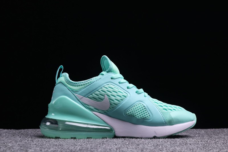 best sneakers 24bfd 47b56 2018 Nike Air Max 270 Women's Apple Green Cushioning Running Shoes Super  Deals