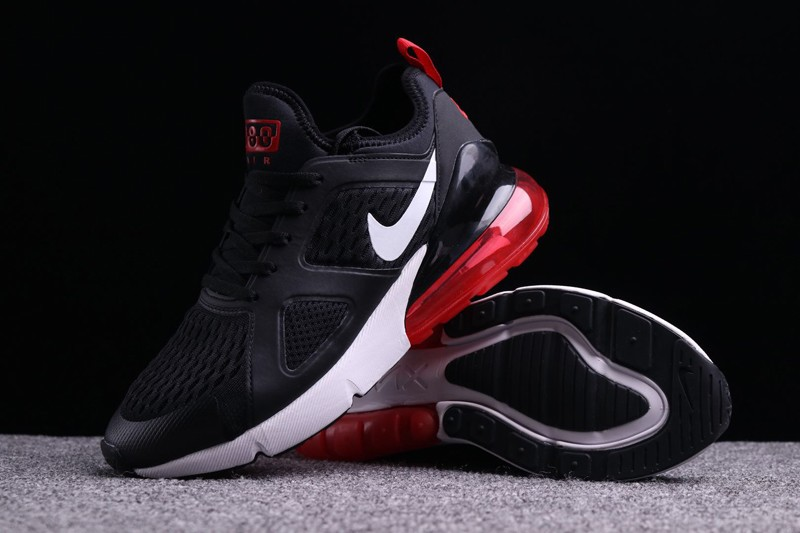 "312b844909c6 Best Sell Nike Air Max 270 ""Black-Red-White"" Men s Cushioning Running Shoes"