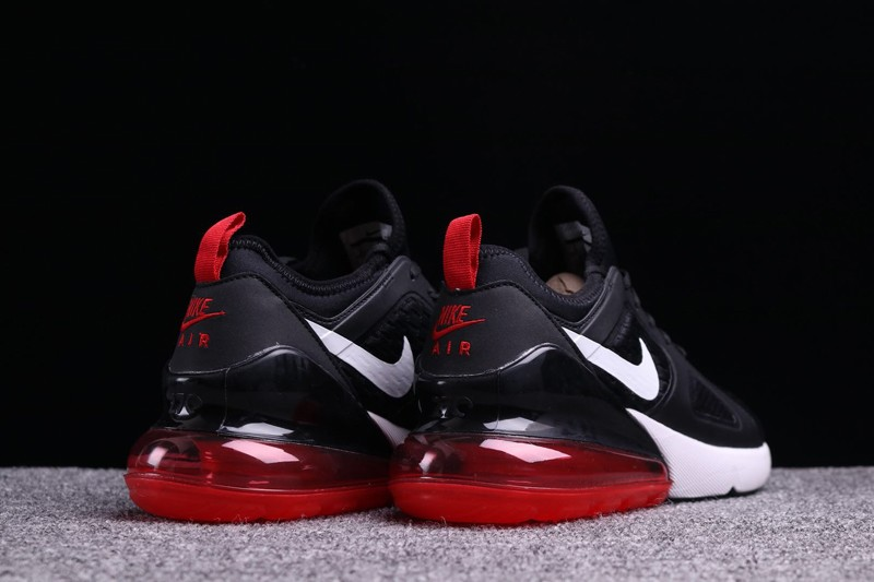 "new styles 0f07d 47618 Best Sell Nike Air Max 270 ""Black-Red-White"" Men s Cushioning Running Shoes"