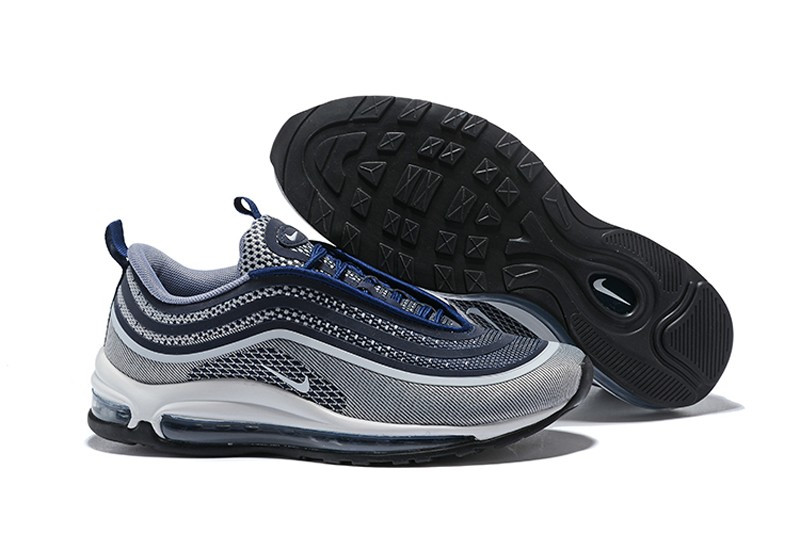 new products e6f8f f9835 Best Sell Nike Air Max 97 UL'17 Men's Grey/Black/Dark Blue Running Shoes ...
