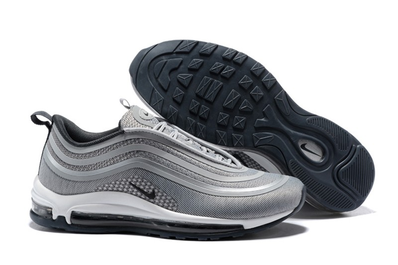 Best Sell Nike Air Max 97 Ul 17 Wolf Grey Neutral Cushioning Running Shoes 918356 007