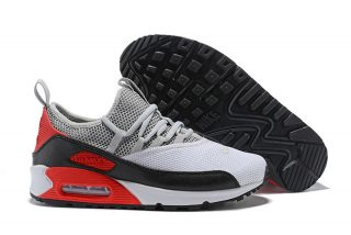 Brand New Nike Air Max 90 EZ Men s Wolf Grey Black Infrared Red Running  Shoes AO1745-002 8ffecefcb