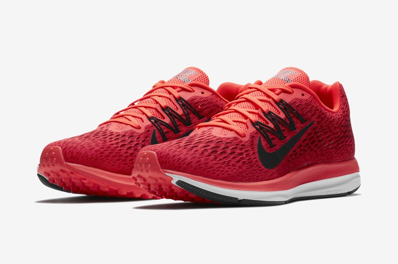 timeless design 37093 d4290 Brand New Nike Air Zoom Winflo 5 Men s Bright Red Oil Rouge-Black Running  Shoes AA7406-600