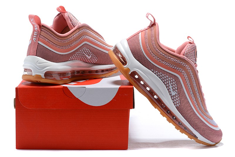 0764540b75 High Quality Nike Air Max 97 UL'17 Women's Rose Gold Running Shoes ...