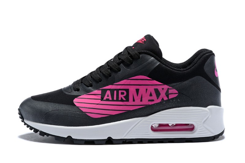 7dd8baede5863a High Quality Women s Nike Air Max 90 NS GPX Pink Black-White Running Shoes  ...