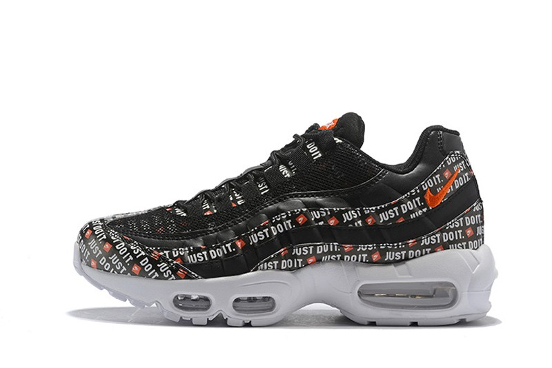 "Hot Sale Nike Air Max 95 ""Just Do It"" Men's Black Casual ..."