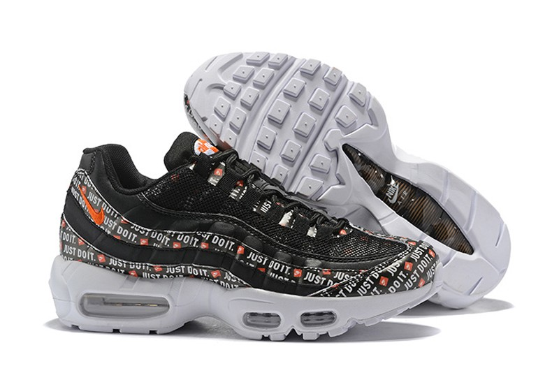 "separation shoes 7d7b7 3d64d Hot Sale Nike Air Max 95 ""Just Do It"" Men's Black Casual Running Shoes  AV6246-001"