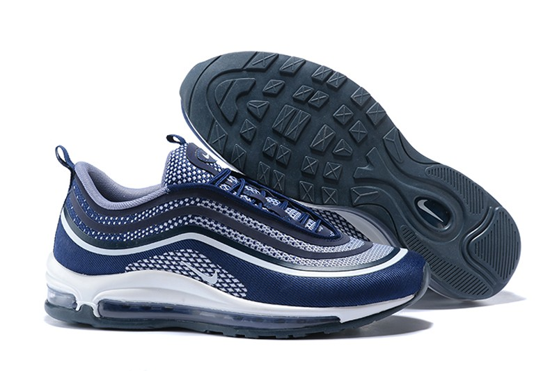 new arrival 4f4a4 2aaf2 Men s Nike Air Max 97 UL 17 Midnight Navy Fashion Running Shoes Sneakers  918356-400