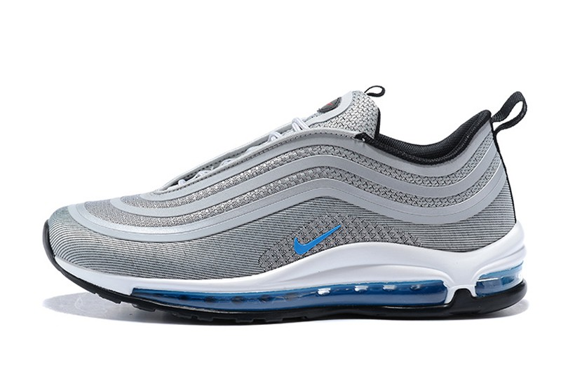 reduced nike air max 97 silver blue 67260 9e0f5