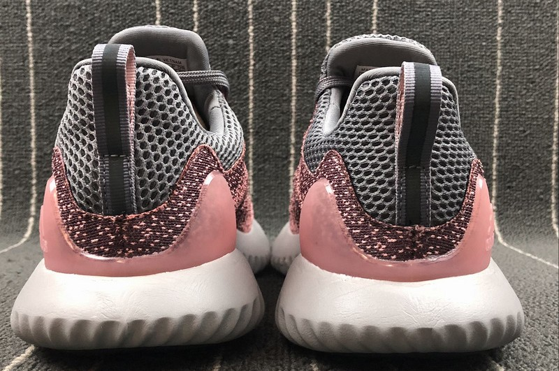 New Arrival Adidas Alphabounce Beyond Women's Grey/Clear Orange CG5579 Running Shoes
