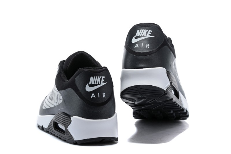 8c4ff4dc148 New Arrival Nike Air Max 90 NS GPX Wolf Grey Black-White Men s Running Shoes  ...
