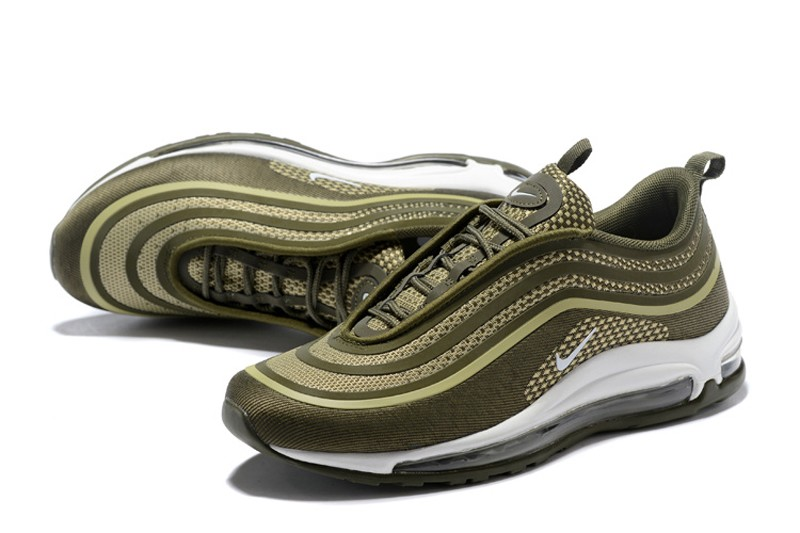New Arrival Nike Air Max 97 UL17 Olive Green Men s-Women s Running ... 72d3b5a65