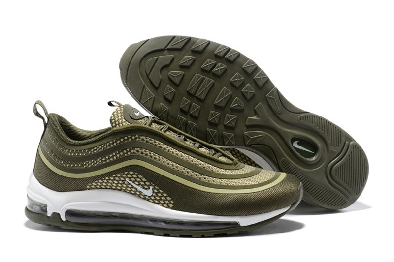 detailed pictures af786 32bbc New Arrival Nike Air Max 97 UL17 Olive Green Men s-Women s Running Shoes  Sneakers