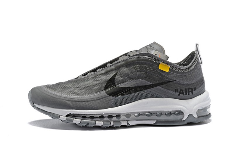 differently 45548 4e14f New Arrival Nike Air Max 97 x OFF White Wolf ...