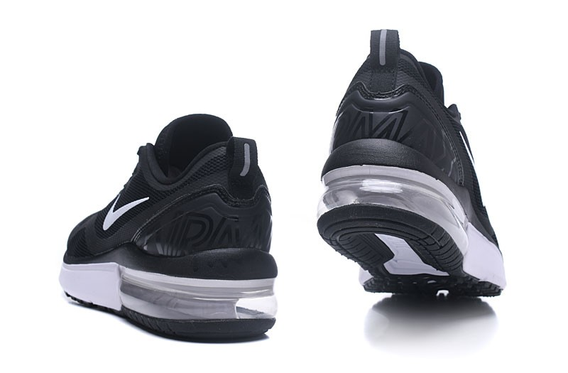 finest selection 40525 a844a New Arrival Nike Air Max Fury AA5739-001 Men s-Women s Black White Running  Shoes