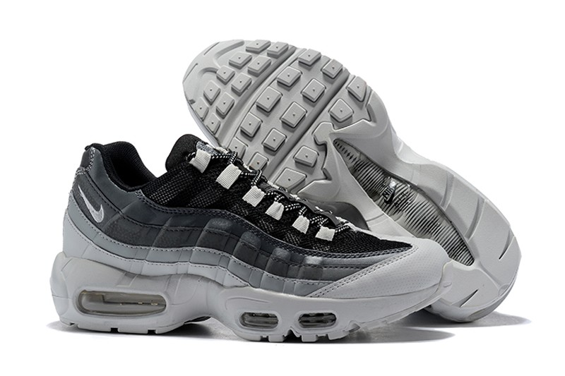 Nike Air Max 95 Essential 749766 029 Men S Wolf Grey White Running