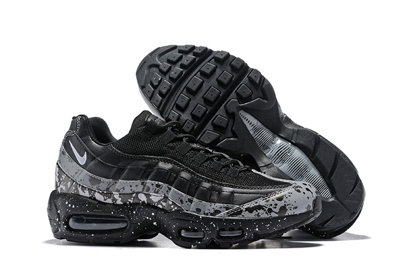 outlet store e9141 1d760 Nike Air Max 95 Essential Men s Black Grey-Confetti ...