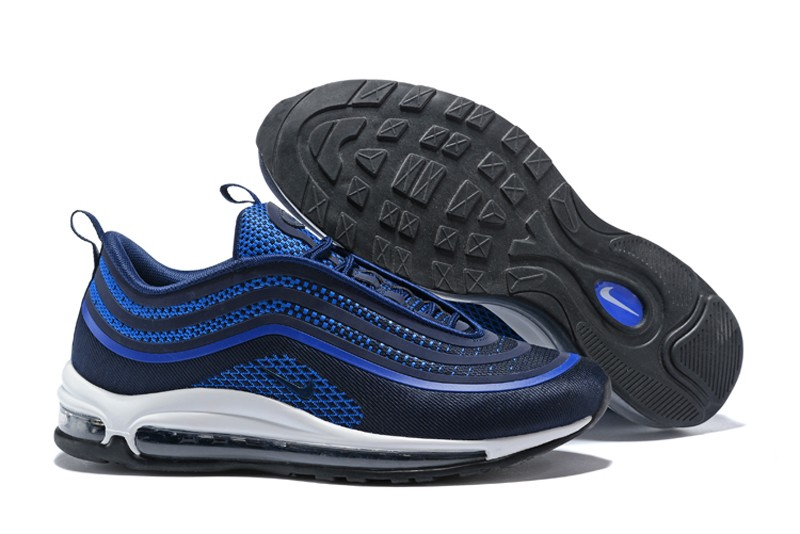 quality design 7d462 3e597 Nike Air Max 97 UL'17 Men's Navy Blue-Dark Blue Cushioning Running Shoes In  Stock