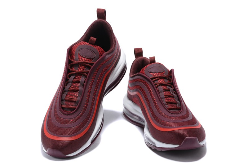 c5859346f27 Nike Air Max 97 UL  17 Noble Red White Men s Running Shoes