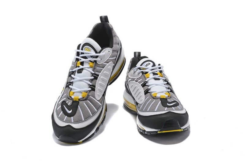 Nike Air Max 98 Tour Yellow Midnight Navy 640744-105 Men s Running Shoes ... af984180a2a5