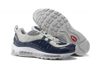 Nike Air Max 98 Men's Athletic Sneakers 640744 080 Metallic