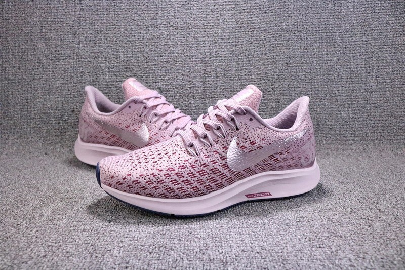 pretty nice b960d c9b5f Nike Air Zoom Pegasus 35 Pink/White Women's Breathable Running Shoes  942855-601 Hot Sale