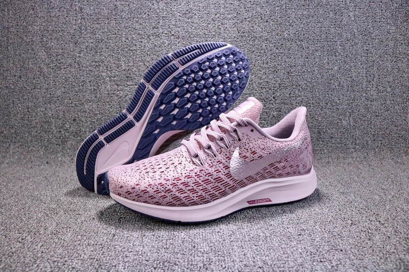 sneakers for cheap 02508 e12b5 Nike Air Zoom Pegasus 35 PinkWhite Womens Breathable Running