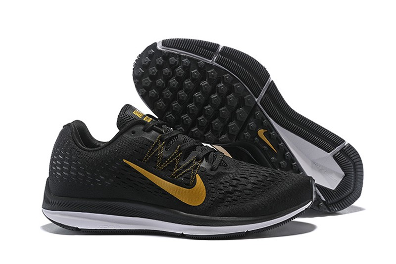 1897f3b9e86e low price mens nike zoom winflo 5 black gold shoes 1dca0 40df4