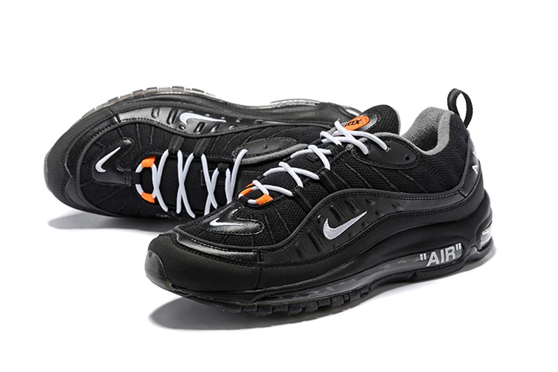 Off-White x Nike Air Max 98 Black/White