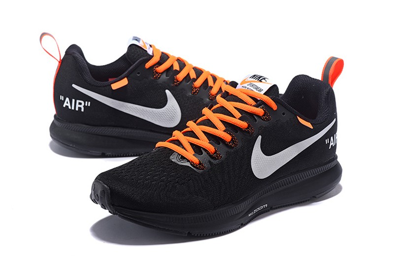 b787ae4ef53d0 Off-White x Nike Air Zoom Pegasus 34 Men s Black Orange Running ...