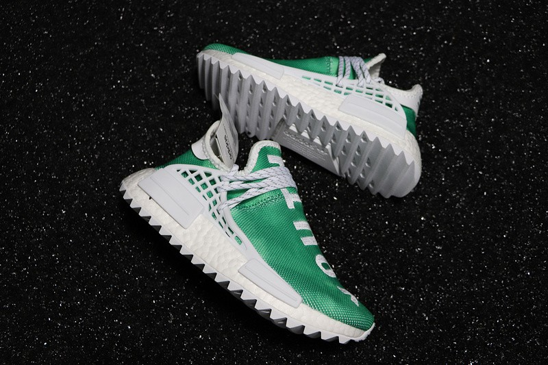 03f2439d83eb Pharrell X Adidas Nmd Hu China Exclusive Youth Green F99760. Pharrell  Williams X Adidas Originals Nmd