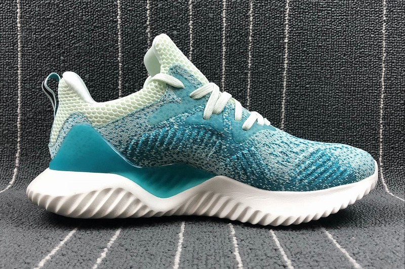dd8f241dcc769 Top Quality Adidas Alphabounce Beyond Women s Yellow-Lake Blue Running Shoes  ...