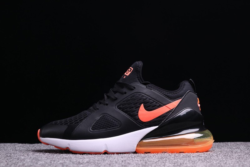 381b9c1f1d6c Top Quality Nike Air Max 270 Black Orange Men s Cushioning Running ...