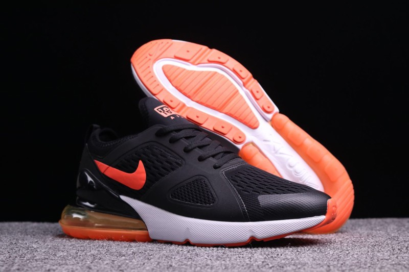 Top Quality Nike Air Max 270 Black Orange Men S Cushioning Running