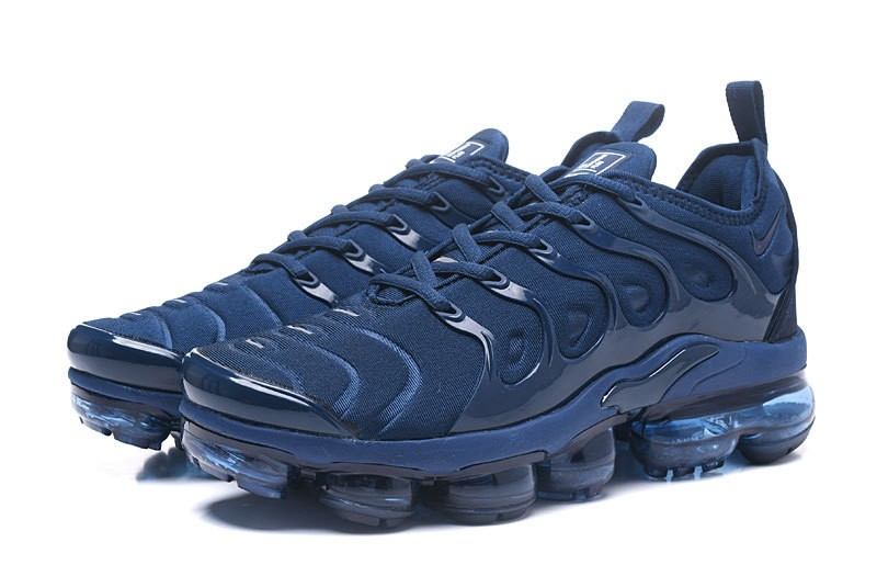 975bf616f91 2018 Most Popular Nike Air Vapormax Plus Tn Dark Blue Men s Athletic  Sneakers ...