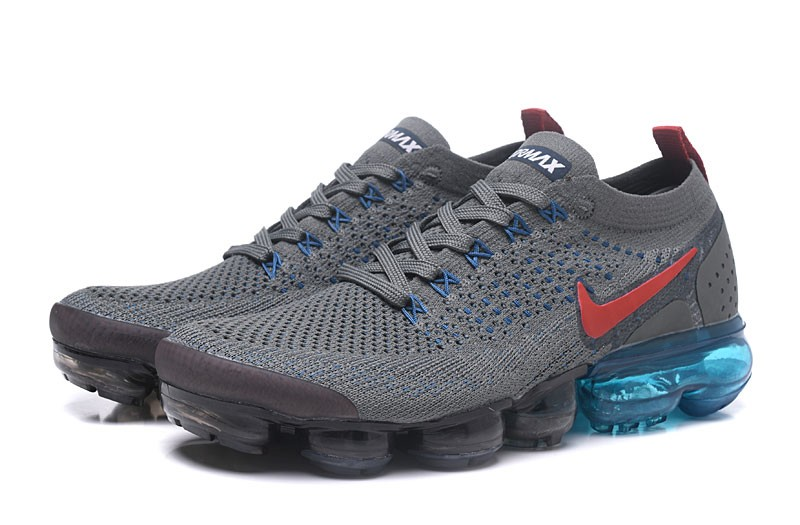 quality design e2f72 fdef7 2018 New Arrival Nike Air VaporMax Flyknit 2.0 Men's Running Shoes  942842-400 Carbon Grey
