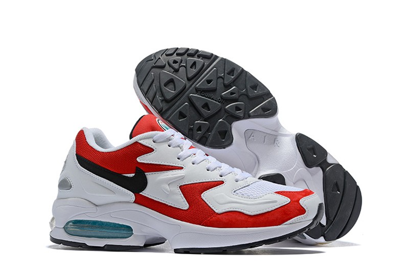 fafb8be999dc3c Brand New Nike Air Max2 Light 104042-601 Men s Storm Red Black-Clear ...