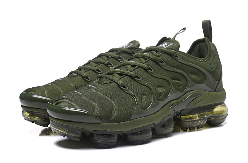 High Quality Nike Air Vapormax Plus Tn Olive Green Army Green Men s Running  Shoes ... c40e7db5a