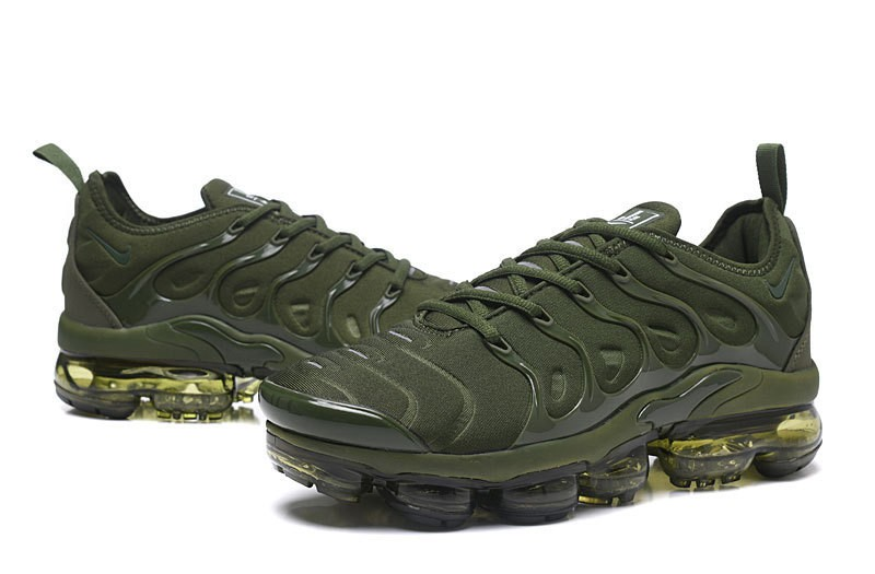 e06a1edcb05 High Quality Nike Air Vapormax Plus Tn Olive Green Army Green Men s Running  Shoes ...
