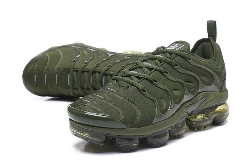 06bdd17c481 High Quality Nike Air Vapormax Plus Tn Olive Green Army Green Men s Running  Shoes ...