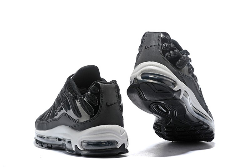 huge selection of e6894 d3ce2 Hot Selling Nike Air Max 97 Plus Black/White Men's Classic Running Shoes  AH8144-001