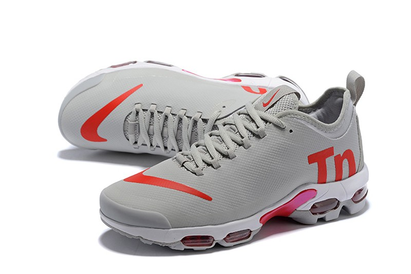 Nike Air Max Plus Tn Ultra Se Grey Red Running Shoes Aq1088 001