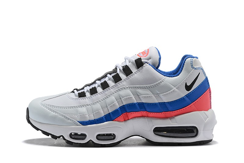 New This Year Nike Air Max 95 Ultramarine 749766-106 White Pink-Blue ... 4d3c7a9acb09