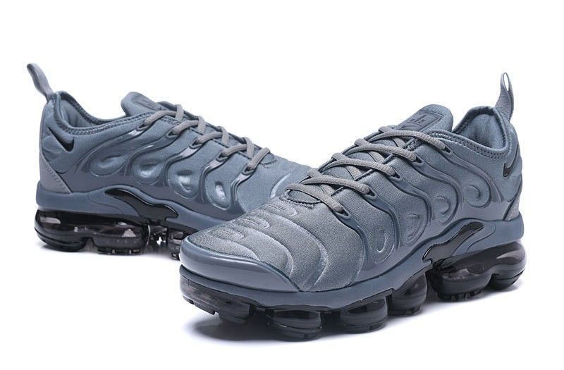 promo code 5c989 30a39 New This Year Nike Air Vapormax Plus Tn Dark Grey/Black Men Athletic  Sneakers Free Shipping