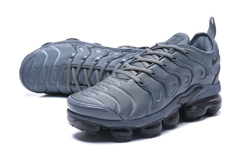 promo code a807b 9b970 New This Year Nike Air Vapormax Plus Tn Dark Grey/Black Men Athletic  Sneakers Free Shipping