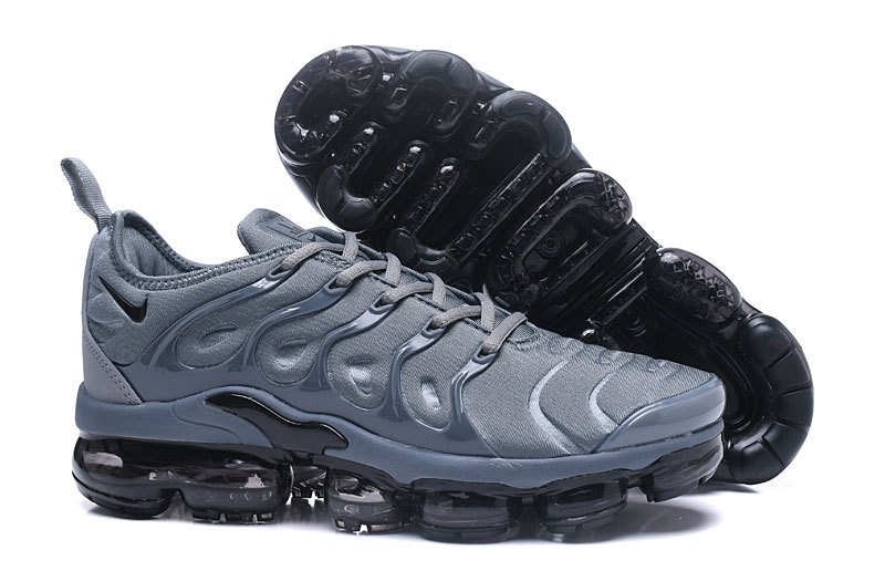 67e1d39aff1 New This Year Nike Air Vapormax Plus Tn Dark Grey Black Men Athletic  Sneakers ...
